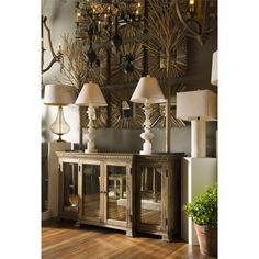rustic french country | Verity French Country Rustic Wood Antique Mirror Large Buffet | Kathy ...
