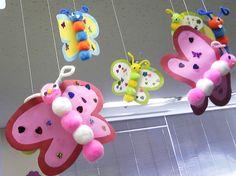 Pom-pom Butterflies