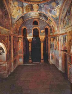 About relics, reliquaries, religion and art Byzantine Art, Byzantine Icons, Mural Painting, Mural Art, Tempera, Fresco, Byzantine Architecture, Orthodox Icons, Kirchen