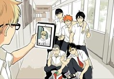 This so very believable. Tsukki would totally do this, not because he's self-centered,but 'cause he's a troll.
