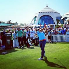 Record attendances at last weeks Omega Dubai Desert Classic (Rory on day 4 on the tee) #dubai #abudhabi #golf #uaegolf #uae #emirates #golfer #golfing #mydubai #socialgolf #sun #happy #like #smile #instagood #instagolf #love #tagsforlikes #follow #iphone