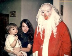 Scary Santa strikes again
