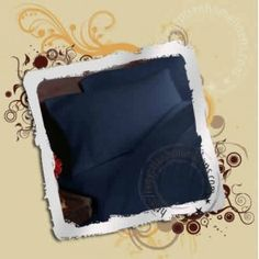 """22"""" Inches Super Deep Pocket  Navy Blue Fitted Sheets 1000TC - All Sizes"""