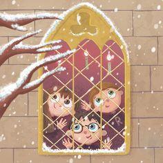 Harry Potter on Behance Classe Harry Potter, Cute Harry Potter, Harry Potter Artwork, Mundo Harry Potter, Harry Potter Drawings, Harry Potter Pictures, Harry Potter Wallpaper, Harry Potter Universal, Harry Potter World