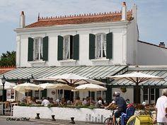 Ile de Ré, le Café du Commerce, Ars en Ré