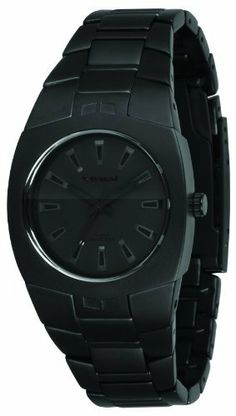 Vestal Women's MGH004 Mini Gearhead Matte Black Watch Vestal. $69.00. Water-resistant to 330 feet (100 M). Crystal: solid mineral. Buckle: stainless steel safety clasp. Case: mid-sized stainless steel 34mm wide. Band: stainless steel 20mm wide