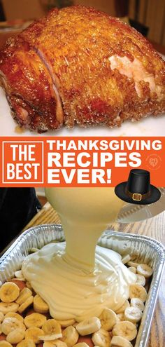 The BEST Thanksgiving Recipes EVER Thanksgiving is going to be here soon. If you want this year's Thanksgiving dinner to be the best ever, you have to try these great recipes. These delicious recipes are tried and true and guaranteed… Continue Reading → Great Recipes, Favorite Recipes, Delicious Recipes, Recipe Ideas, Thanksgiving Dinner Recipes, Thanksgiving Holiday, Recipes Dinner, November Thanksgiving, Easy Thanksgiving Side Dishes