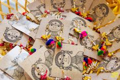 Beautiful mehendi favors for brides indian weddings, wedding favours indian, indian wedding cards, Indian Wedding Gifts, Indian Wedding Decorations, Indian Weddings, Real Weddings, Punjabi Wedding, Desi Wedding, Indian Bridal, Elegant Wedding Favors, Wedding Favors For Guests