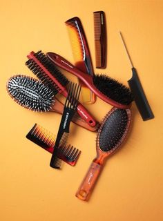 Beauty I Photography by Frank Brandwijk I 'Hair Brushes and Comb' 'Hair Products'