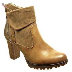 Angkorly - Chaussure Mode Bottine low boots bi-matière femme peau de serpent clouté Talon haut bloc 8 CM - Intérieur Fourrée - Khaki - F900 T 41 - Chaussures angkorly (*Partner-Link)
