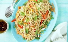 Soba noodle-vegetable salad Recipe by Ellie Krieger : Food Network UK
