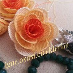 tatil bitti ,siparişlerime  başlama zamanı  @oyaliiplik  suni ipek iple sarı güller Needle Lace, Needlework, Diy And Crafts, Flowers, Accessories, Jewelry, Instagram, Craft, Embroidery