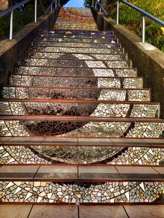 Mosaic stairs san Francisco