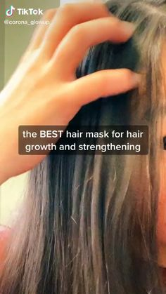 hair mask for frizz Natural Hair Care, Natural Hair Styles, Natural Skin, Natural Beauty, Organic Beauty, Hair Growing Tips, Hair Growing Mask, Diy Hair Treatment, Hair Treatments