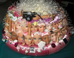 Collecting Fashion Dolls by Terri Gold: My Easter Bonnet and Basket