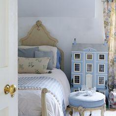 Kinderzimmer Wohnideen Möbel Dekoration Decoration Living Idea Interiors home nursery - Kinder Pulver blaue Schlafzimmer