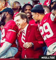 Alabama Football Team, Sec Football, Crimson Tide Football, University Of Alabama, Alabama Crimson Tide, Nick Saban, We Are The Champions, Thing 1, Roll Tide