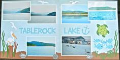 Lake layout  using Cricut Life is a Beach
