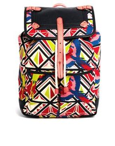 Top Style Buy: Paul's Boutique Aztec Parrot Roxy Backpack #paulsboutique #topshop #fashion #backpack