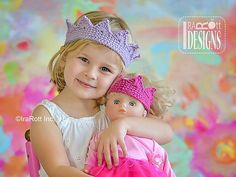 Ravelry Crochet Princess Crown Free Pattern - Having your children look like royalty won't be as hard as you thought with these easy Royal Crochet Crown FREE Patterns. They are great for many occasions. Crochet Doll Clothes, Crochet Toys, Crochet Baby, Free Crochet, Knit Crochet, Crochet Diagram, Ravelry Crochet, Double Crochet, Single Crochet