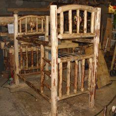 Bunk Bed Log, Lodgepole Pine