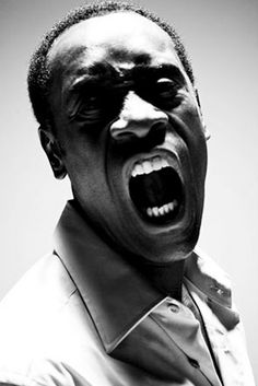 """Don Cheadle by Michael Muller - Loved him ever since he played Mouse in """"Devil in a Blue Dress.""""  Should be a bigger star because he's amazing."""