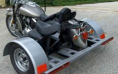 Motorcycle Trike Conversion Kit - Fits All Brands & Models