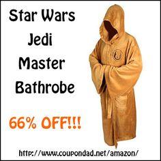 Star Wars Jedi Master bathrobe - 66% Off!!