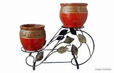 Courtyards, Iron, Flower Pots, Gardens, Artists, Internal Courtyard, Yard, Side Yards