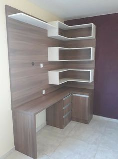 Home Office Furniture Can Make You Work Bedroom Setup, Bedroom Bed Design, Bedroom Furniture Design, Home Room Design, Home Office Design, Home Office Furniture, Home Office Decor, Bedroom Decor, Home Decor