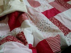 Babydecken - Patchworkdecke für Kleine und Große, 110x160 cm - ein Designerstück von WaldundWiesenkinder bei DaWanda