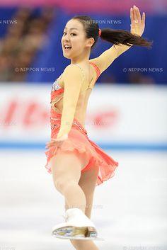 Mao Asada (JPN), .NOVEMBER 23, 2012 - Figure Skating : Mao Asada of Japan performs during the ISU Grand Prix of Figure Skating 2012/2013 NHK Trophy Women's Short Program at Sekisui Heim Super Arena Grande21, Miyagi, Japan. .(Photo by AFLO)