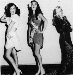 Paulette Goddard, Dorothy Lamour and Veronica Lake - STAR SPANGLED RHYTHM