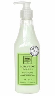 """Hand Lotion $16.00 What our customers are saying """"I've been using Good Home products for years and I especially love the Pure Grass fragrance. I use the hand soap and hand lotion several times a day. I especially like that the products are free of chemicals."""""""