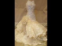▶ Art Dress tutorial with Paper Mache Bodice Tutorial - YouTube