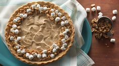 Kids will go crazy for this decadent, easy pie that combines peanut butter and marshmallow creme.
