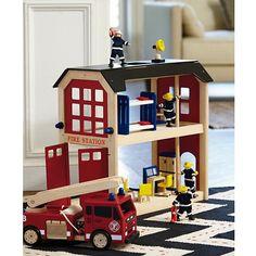 Everything but the Dalmatian Firehouse Set  #NodWishlistSweeps