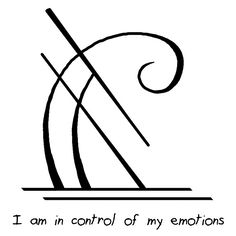 "Sigil Athenaeum - ""I am in control of my emotions"" sigil"