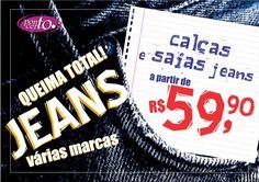 Post promoção de jeans Calce Leve