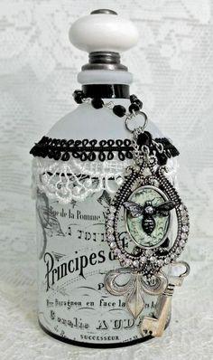 ideas para decorar botellas-eltallerdejazmin