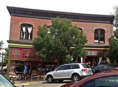 Tony's Coffee (built 1888), downtown Bellingham, WA  #architecture #building #exterior #old #historic #bellingham #washington
