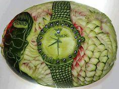 fruit carving watermelon http://webneel.com/fruit-carving-art | Design Inspiration http://webneel.com | Follow us www.pinterest.com/webneel