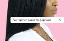 Hair Regimen Basics For Beginners - Hairlicious Inc. Hair A, Hair Type, Longer Hair Faster, Hair Regimen, Loose Hairstyles, Hair Care Tips, Hair Journey, Styling Tools