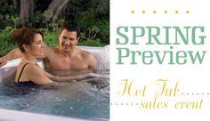Spring Preview Hot Tub Sales Event at Sabine Pools, Spas & Furniture