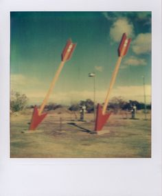 Roadside attraction in Twin Arrows, Arizona, Route 66. Christopher Robleski