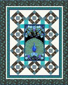 Fairy Garden Quilt Pattern by Pine Tree Country Quilts