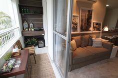 Decoration of balconies Balcony terraces 15 – Small Balcony Decor Ideas Lounge Design, Balcony Design, Small Apartment Decorating, Apartment Design, Apartment Living, Style At Home, Small Balcony Decor, Dream Home Design, Small Apartments
