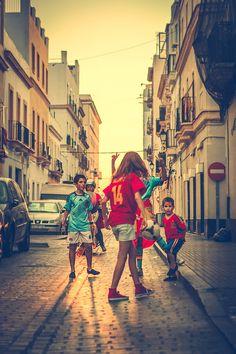 Fotografía Match Point #futbol #photography