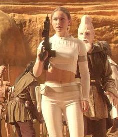 Padme Amidala-Star Wars(1999-2005)Once Queen Of Naboo Her Career as A Senator Nothing But Peaceful She was Targeted By Jango Fett Via Count Dooku To Be Aassainated But Luckliy Her Future Lover Anakin Skywalker Would Protect Her and Shes Not Afraid Of Agreessive Negoations with A Laster Gun