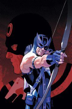 Bullseye & Hawkeye by Daniel Acuna